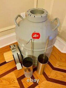 Linde Type Ld 30 Liquid Nitrogen Storage Dewar Cryogenic Vessel