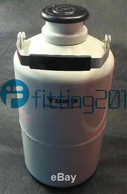 Liquid Nitrogen Container 3L YDS-3 LN2 Dewar Cryogenic Flask 3 Pcs Pails