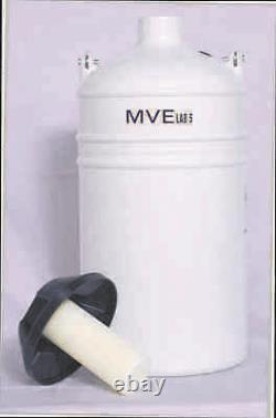 Liquid Nitrogen Dewar MVE Lab 5
