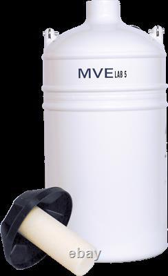 Liquid Nitrogen Dewar MVE Lab 5 FREE SHIPPING