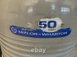 Liquid Nitrogen Dewar/Tank 50Ltr