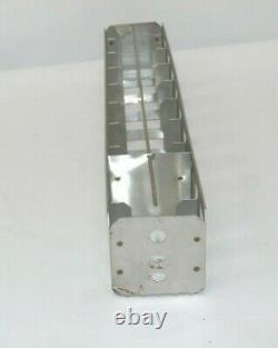 Lot of 8 Stainless Steel Liquid Nitrogen Dewar Freezer Racks Small 20 X 3.25