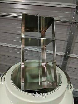MVE Chart 10508967 Cryoshipper Qwick Charge Dewar 8.5L Liquid Nitrogen Tank