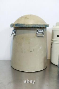 MVE Chart Biomedical 10508967 CryoShipper Dewar 5.9L Liquid Nitrogen Tank