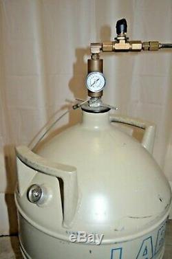 MVE/ Chart Lab 20 Liquid Nitrogen Tank Dewar with Parker Liquid Withdrawal Device