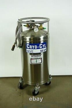 MVE Cryo-Cyl 50L LP Liquid Nitrogen Storage Cylinder Dewar
