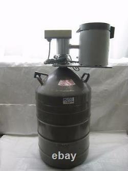 MVE Cryogenics Liquid Nitrogen Dewar, Low Temp Cell & Mettler Toledo Thermometer