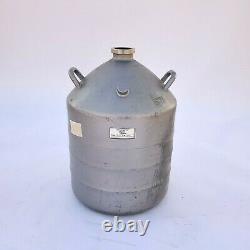 MVE Cryogenics Model AL-30 Liquid Nitrogen Storage Cryogenic Dewar