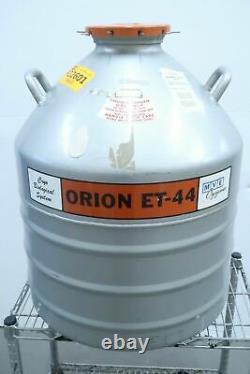 MVE Cryogenics Orion ET-44 Liquid Nitrogen Dewar Vacuum Vessel Cryo Tank