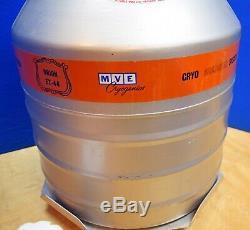 MVE Cryogenics Orion ET-44 Liquid Nitrogen Dewar Vacuum Vessel Tank