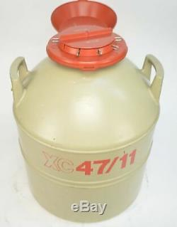 MVE Cryogenics XC47/11 Cryo Storage Liquid Nitrogen Tank Dewar