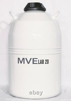 MVE Lab 20 Dewar Liquid Nitrogen Storage Container