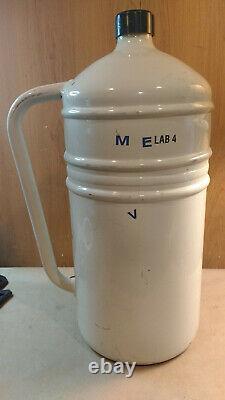 MVE Lab 4 9922219 4 Liter LN2 Liquid Nitrogen Storage Dewar Flask