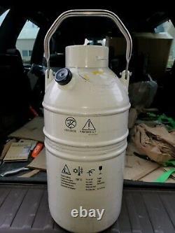 MVE SC 4/2v Vapor Shipper LN2 Dewar Liquid Nitrogen