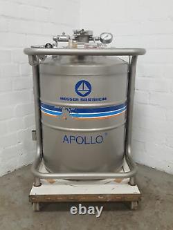 Messer Griesheim Apollo 50 Liquid Nitrogen Dewar Storage Vessel