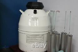 Mve Liquid Nitrogen Freezer, Dewar, Cryostorage Tank, Model XC 34/18