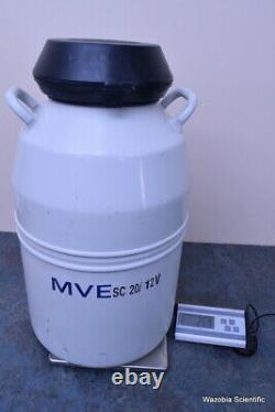 Mve Sc 20/12v Liquid Nitrogen Container Dewar Tank