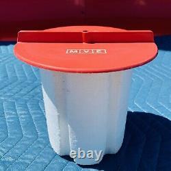 Mve XC 47/11 Cryogenic Storage Liquid Nitrogen Dewar Container 6 Canisters USA