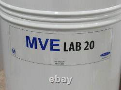 NEW No Box Brymill MVE Lab 20 Liter Liquid Nitrogen Cryogenic Storage Dewar