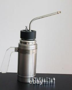 New In Box 500ml 16oz Cryogenic Liquid Nitrogen LN2 Freeze Sprayer Dewar Tank