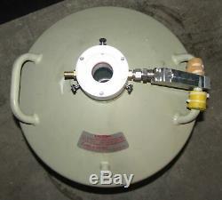 Ortec Liquid Nitrogen Tank Ln2 Dewar 30 Liter (b4)