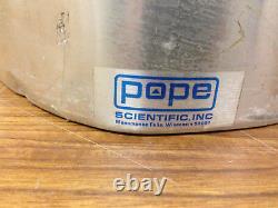 POPE Vacuum Dewar Flask (17 L) Cryo-Flask, for Liquid Nitrogen
