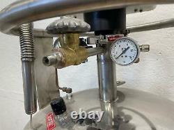 Perkin Elmer N5330210 50L Dewar Liquid Nitrogen Storage with Cyrofill Cooling