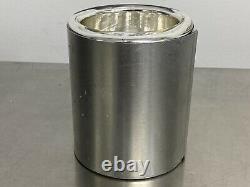 Pope 8325 Liquid Nitrogen Dewar 350mL Full Base Cylindrical Low Form Pre-owned
