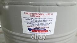 R169436 Statebourne Bio34 Liquid Nitrogen Double Walled Vacuum Vessel Dewar