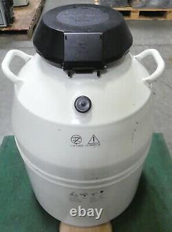 R174584 Chart MVE Cryogenics Liquid Nitrogen Dewar Tank with Five Canisters
