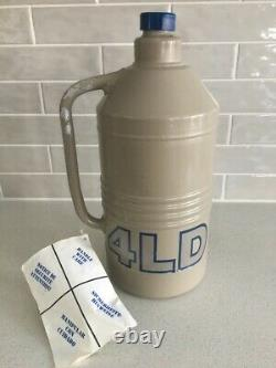 TAYLOR-WHARTON 4 LD Liquid Nitrogen Dewar 4 Liter Cryogenic Tank Flask Pitcher