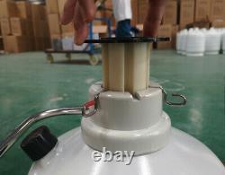TIANCHI Liquid Nitrogen Tanks 2L Cryogenic Dewar Containers LN2 Tank Flask