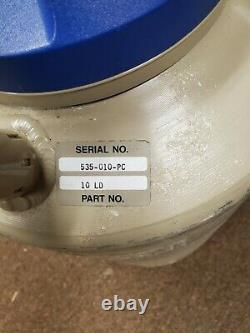 Taylor Wharton 10 Liter Cryogenic Liquid Nitrogen Dewar, Model 10 LD