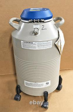 Taylor-Wharton 18XT Liquid Nitrogen Dewar 18-liter Cryo Storage +Canisters/Canes
