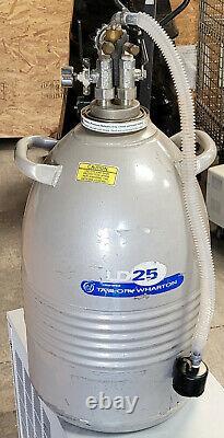 Taylor-Wharton 25LD Liquid Dewar Tank Liquid Nitrogen Magnevu 25 Liter