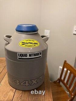 Taylor Wharton 34XT Cryogenic Liquid Nitrogen Storage Tank Dewar
