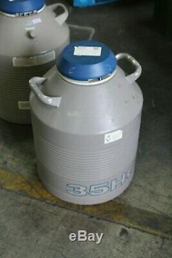 Taylor Wharton 35 HC Dewar Liquid Nitrogen Storage Container