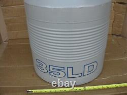 Taylor-Wharton 35 LD Dewar Liquid Nitrogen Cryogenic Tank Reservoir Cryo NO CAP