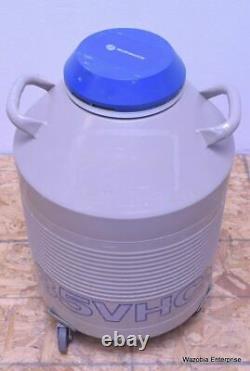 Taylor Wharton 35hvc 35 Hvc Liquid Nitrogen Dewar Cryogenics Canister
