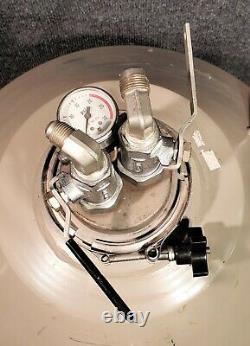 Taylor Wharton 35ld Liquid Nitrogen Cryogenics Dewar + Withdrawal Device