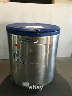Taylor Wharton 38 K Liquid Nitrogen Dewar Cryogenic Freezer, faulty contro