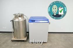 Taylor Wharton K Series Liquid Nitrogen Dewar with Warranty SEE VIDEO