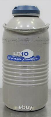 Taylor Wharton LD 10 Liquid Nitrogen Cryogenic Dewar