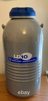 Taylor Wharton LD10 Liquid Nitrogen Dewar