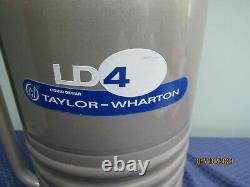 Taylor Wharton LD4 Liquid Nitrogen Dewar GUARANTEED