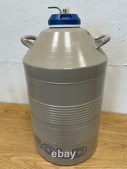 Taylor Wharton Model 50LD Dewar Liquid Nitrogen Storage 50L Cryogenic Storage