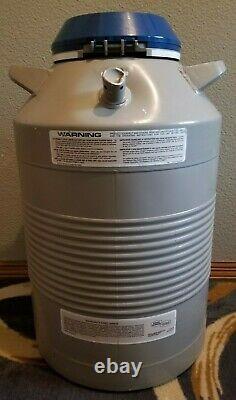 Taylor Wharton Union Carbide 18XT Cryogenic Liquid Nitrogen Storage Tank Dewar