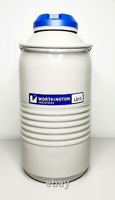 Taylor Worthington Ind LD10 Series Liquid Nitrogen 10 Liters Dewars Tank