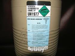 Taylor-wharton 10 LD Liquid Nitrogen Dewar / Container Airgas Un1977