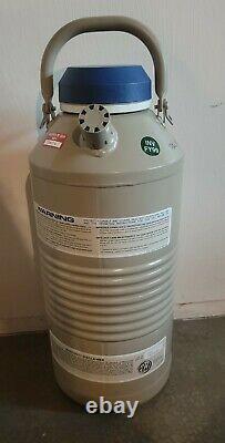 Taylor-wharton Cp65 Cp 65 Liquid Nitrogen Aluminum Cryogenic Dewar
